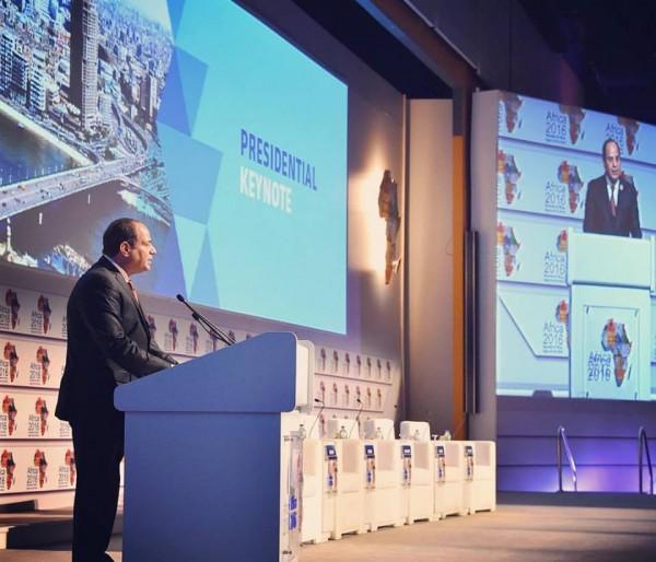 الرئيس السيسي يفتتح مؤتمر الكوميسا