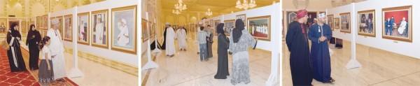 معرض ملامح من مسيرة عمان1