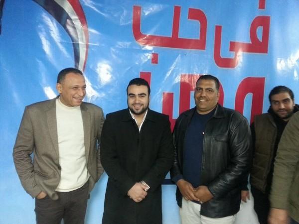 محمد عزت منسق قائمة حب مصر للمحليات مع ناصر منسق السويس