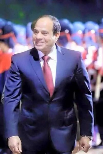 السيسي رئيس مصر العظمي