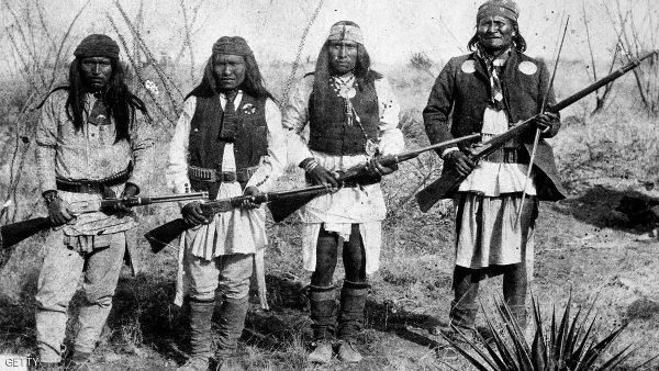 بندقية كانت مملوكة لزعيم قبيلة الأباتشي