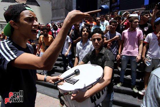مظاهرات ثانوي التراس