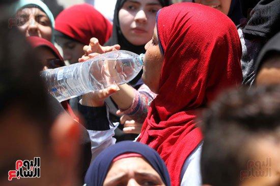 مظاهرات ثانوي فاطرين رمضن