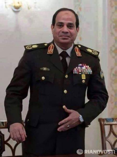 الرئيس القائد عبدالفتاح السيسي