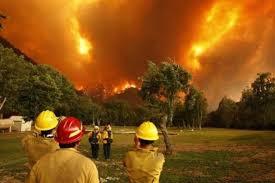 حريق بولاية كاليفورنيا الأميركية
