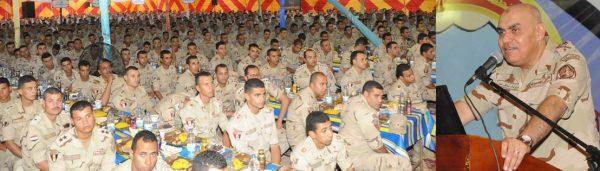 مقاتلي الجيش افطار