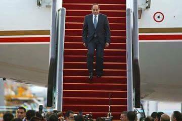 الرئيس في الصين علي سجادة حمراء