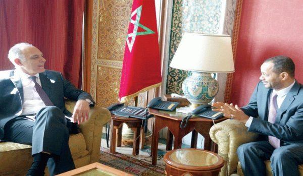 مباحثات بين السلطنة والمملكة المغربية