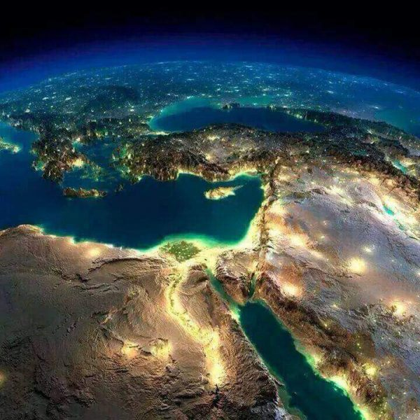 مصر صورة قمر صناعي