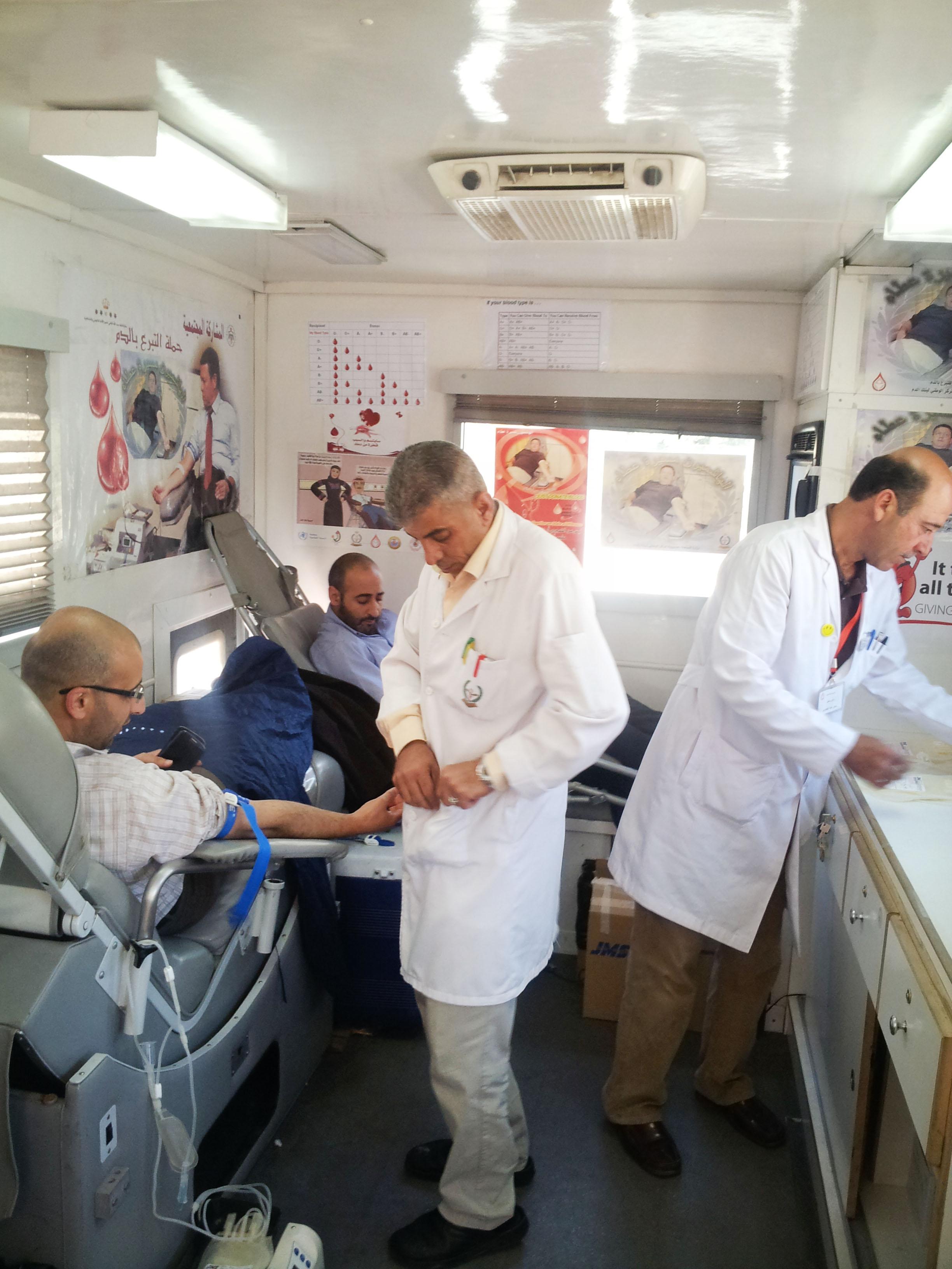 في حب مصر تنظم حملة دمنا واحد للتبرع بالدم