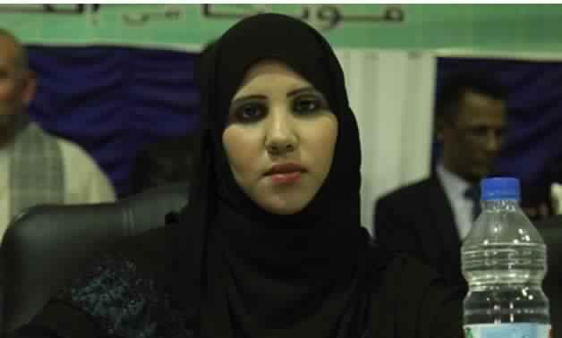 انضمام النائبة سارة صالح لحملة مع السيسي للحصاد