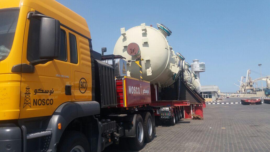 طوارىء بميناء سفاجا لخروج 741 طن طرود و معدات من ميناء سفاجا