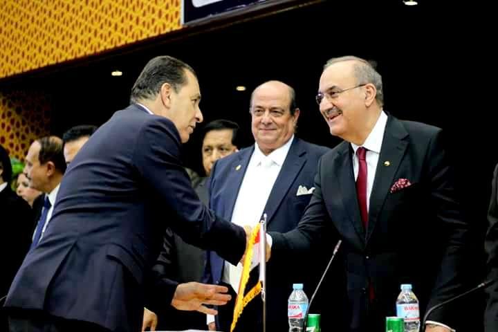 بالصور.. المجلس العربي الأفروآسيوي للتعاون الدولي يكرم اللواء حاتم باشات.