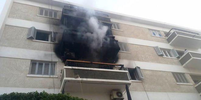 السيطرة على حريق بمنطقة بورتوفيق بالسويس