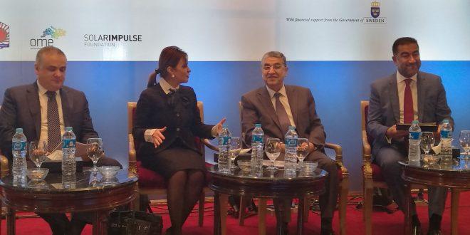 """""""شاكر"""" وزير الكهرباء والطاقة المتجددة وكلمة فى الجلسة الإفتتاحية لمنتدى الإتحاد من أجل المتوسط المنعقد بالقاهرة"""