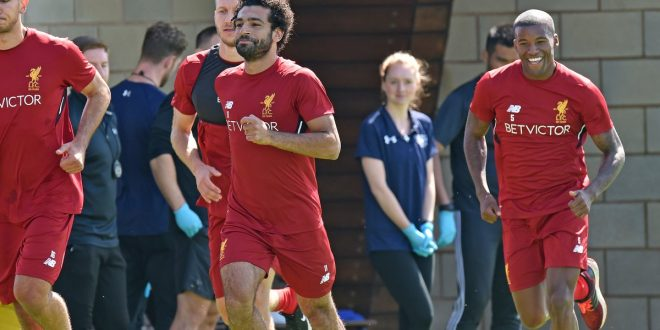 محمد صلاح يحدد مستقبله مع ليفربول : موعدنا نهاية الموسم