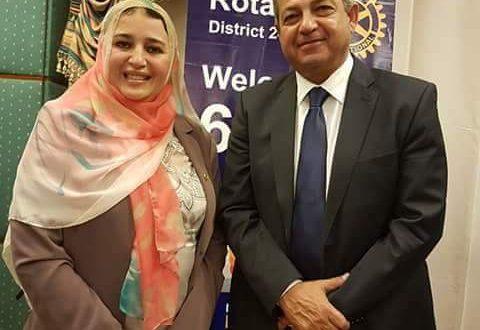 """""""عبير عصام"""" عضوا بالإتحاد المصري للثقافة الرياضية."""