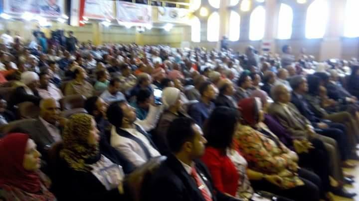 في حب مصر أتجمعنا تجتمع اليوم لبحث خطة دعم الرئيس