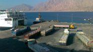 بعد تحسن الطقس.. إعادة فتح ميناء نويبع البحري