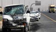 مصرع وإصابة 8 في انقلاب سيارة على الطريق الصحراوي في قنا