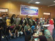 حفل ختام الأنشطة الطلابية وتكريم اتحاد طلاب كليةالاعلام بقنا
