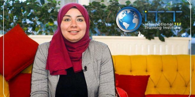 هبة عوض الله تطلق مبادرة تطوير معلمي اللغة الانجليزية